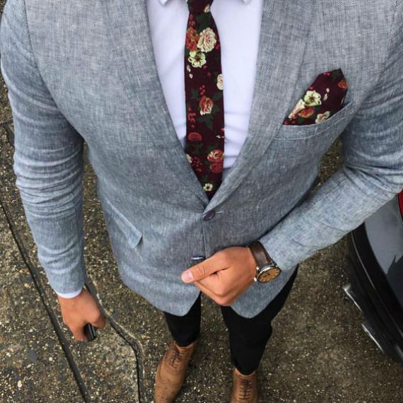 Tipos de Tecidos para Gravatas - Algodão