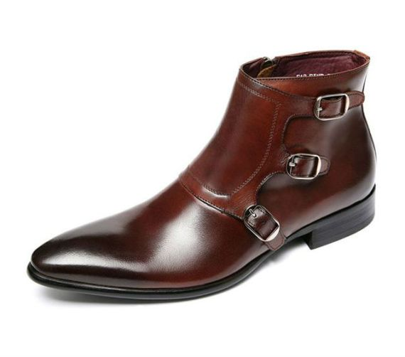 Dress Boots - Bota Monk Strap