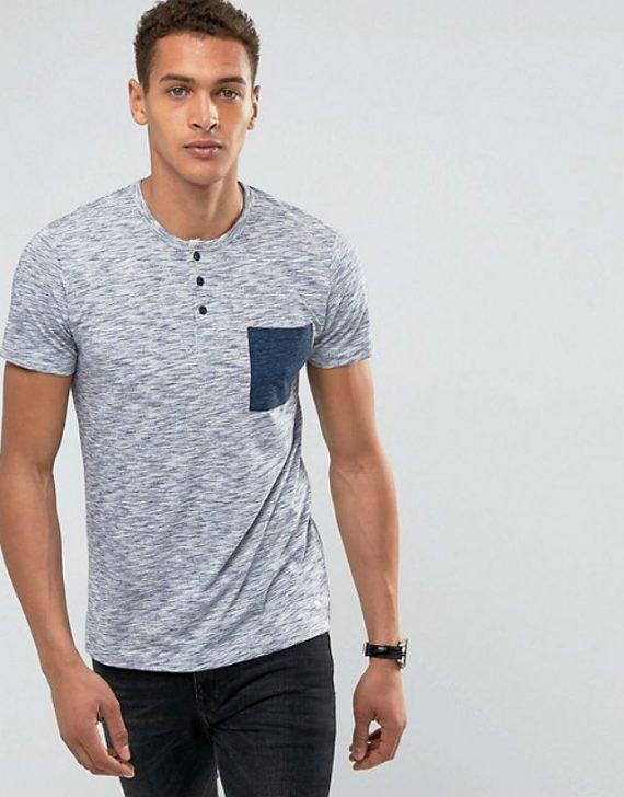 Camisa Henley / Gola Portuguesa: Onde comprar? ASOS