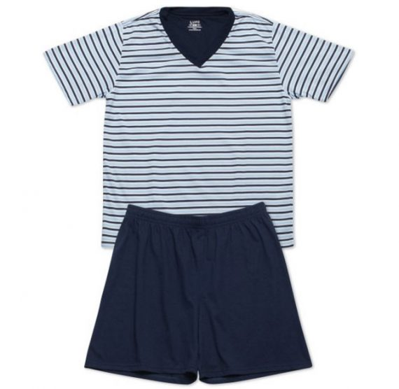 Pijama curto listrado - Cueca Store