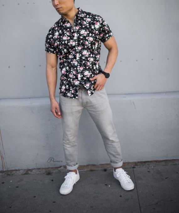 6 Sugestões de Looks para o Verão com Camisas de Mangas Curtas