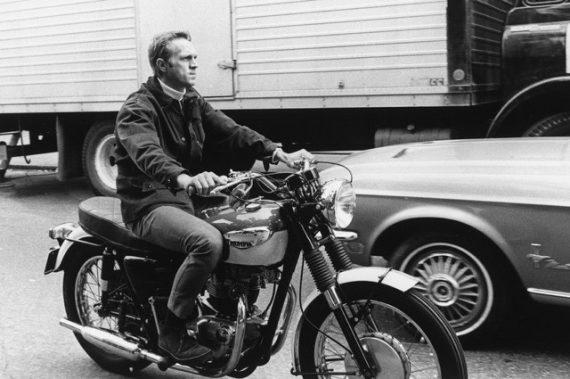 Cinco Motoqueiros Famosos Que Esbanjam Estilo - Steve McQueen