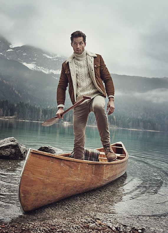 Tendências do Inverno 2018 na Moda Masculina - Shearling Jacket