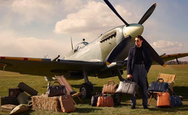 Bolsas Masculinas da Coleção Aerodrome By David Gandy
