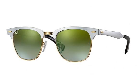 Ray-Ban - Clubmaster  -7 Óculos de Sol Para Quem Gosta de Armação de Metal