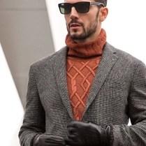 look-masculino-inverno-cinza-laranja-queimado
