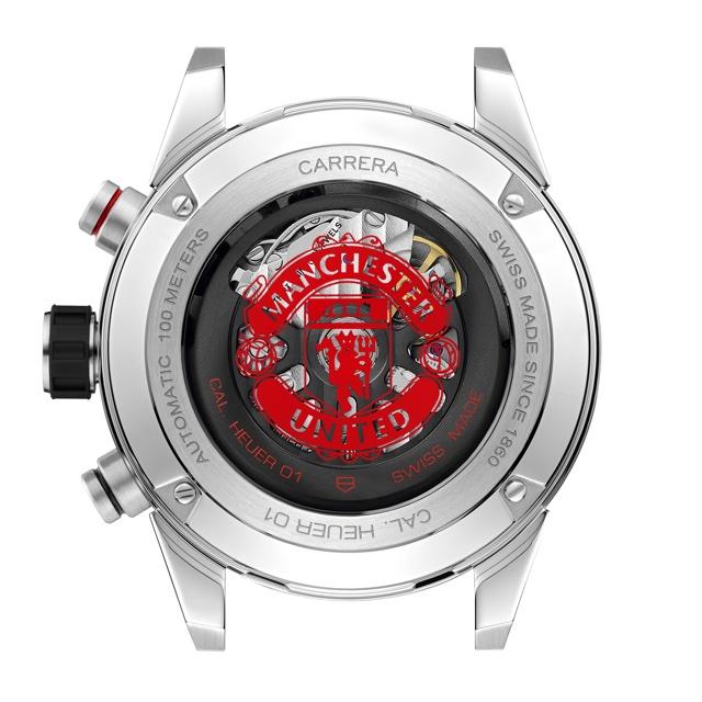 TAG Heuer Carrera Heuer 01 Manchester United