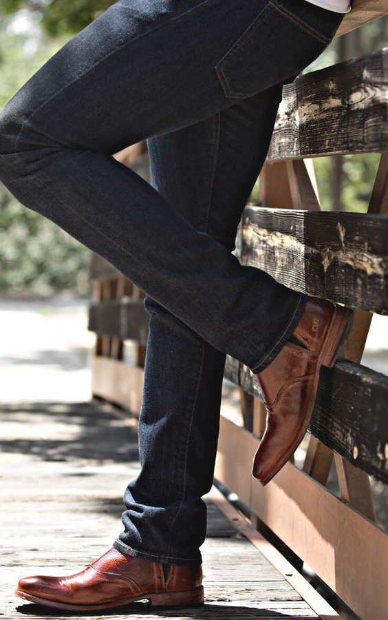 Dicas Para Alongar a Silhueta Masculina - Barra das calças