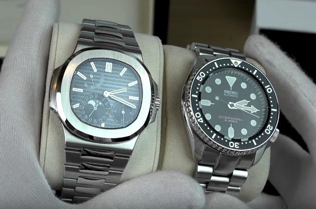 A Diferença Entre um Relógio de 150 Mil e um de 1.500 Reais - Seiko X Patek Philippe