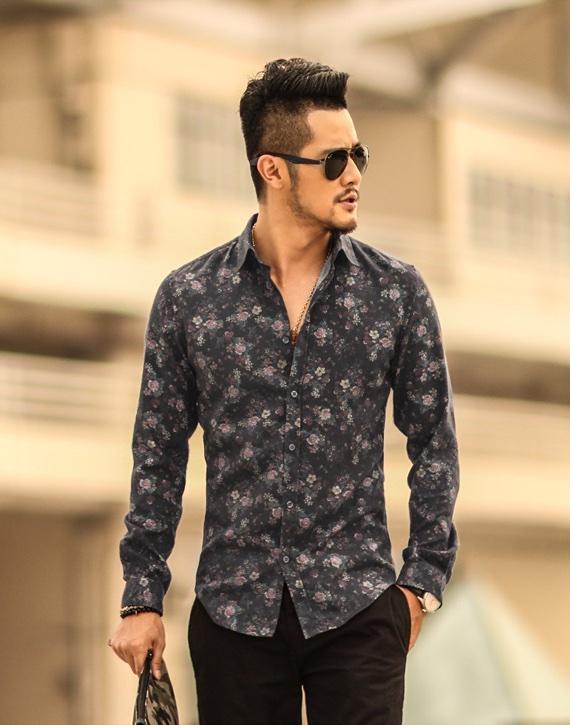 Camisas com estampas e padrões como assinatura de estilo
