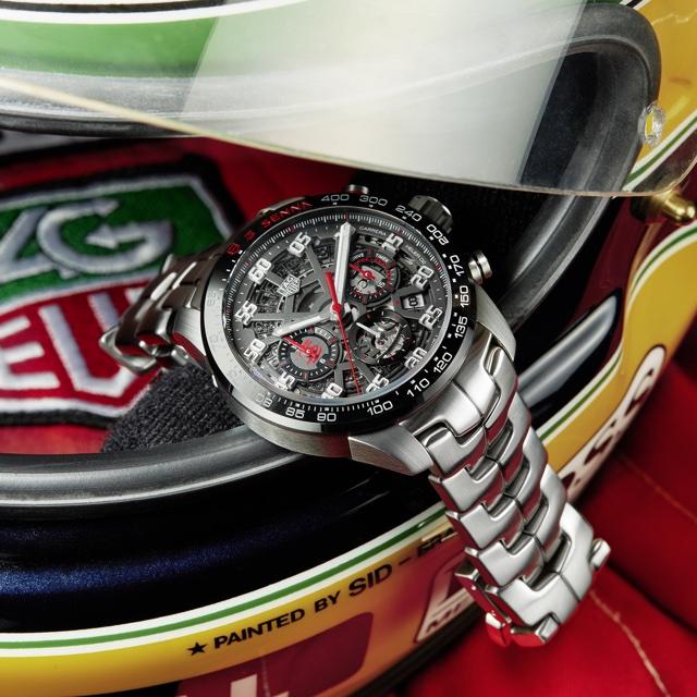 TAG Heuer Lança Edição Especial do Relógio Carrera Ayrton Senna