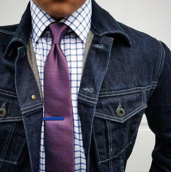 Posts Essenciais do Canal Masculino - Jaqueta jeans