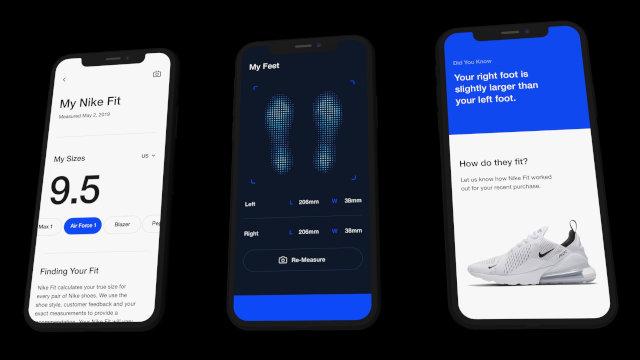 App da Nike Vai Usar Realidade Aumentada Para Mostrar Tênis Ideal