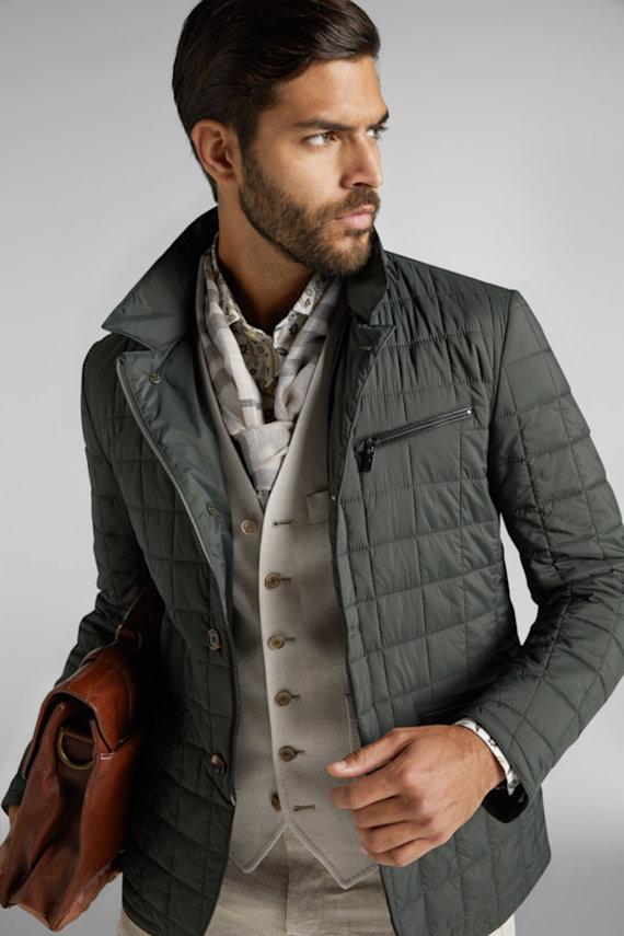 Jaqueta de Matelassê com alfaiataria