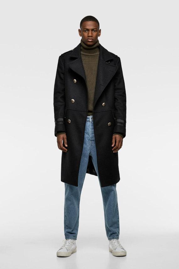 32 Tendências do Inverno 2019 na Moda Masculina - Casaco