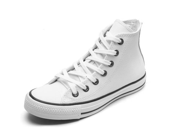 Converse Chuck Taylor All Star Hi Branco