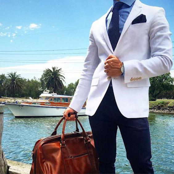 Blazer Branco Masculino: 7 Dicas de Como Usá-lo
