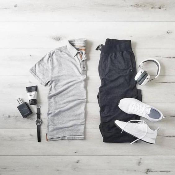 Ideias de Looks Casuais Masculinos Para a Primavera