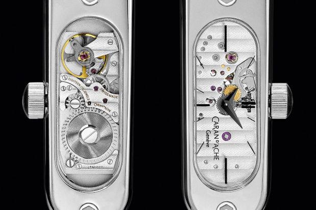 Timegraph - Caran d'Ache Lança Caneta Tinteiro com Relógio Mecânico