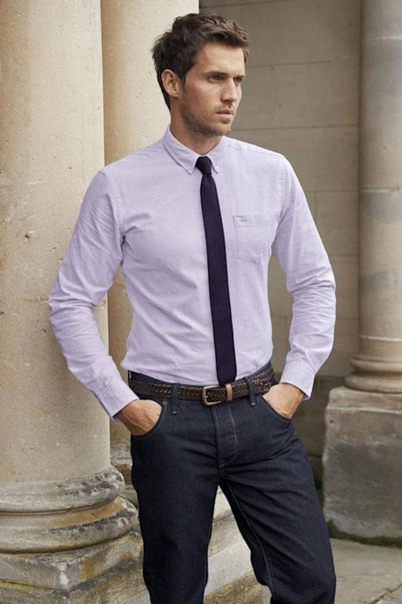 O Look Certo: Jeans Com Camisa Social e Gravata