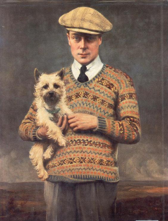 A História do Suéter de Tricô Masculino - Eduardo VIII, o Príncipe de Gales