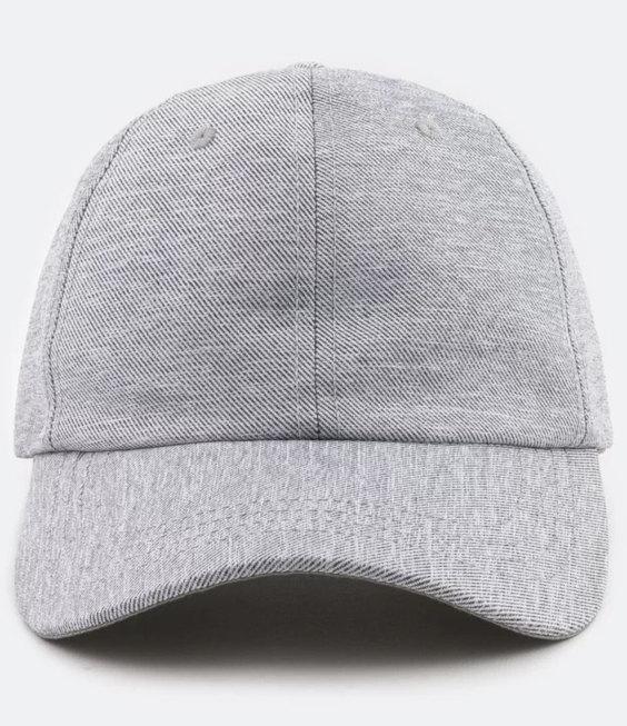 Minimalistische Herrenmützen für den Sommer - Gemischte graue Mütze