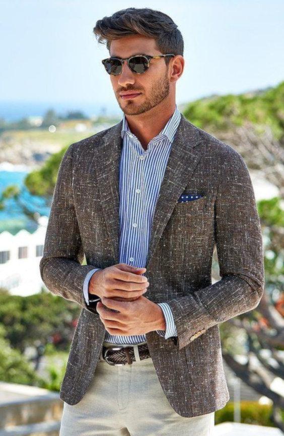 O Look Certo: Smart Casual Com Blazer Estiloso