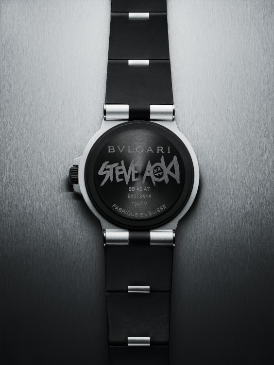 Bvlgari Aluminium Steve Aoki Special Edition