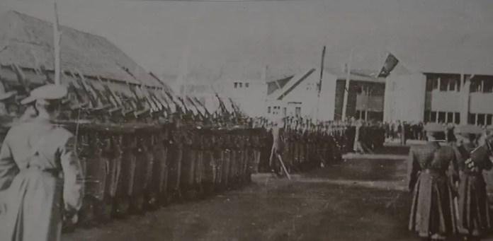 1960-Coyhaique-Juramento-a-la-bandera