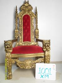 5' Kings Chair - Chairs - Furniture - Prop Sales & Rentals
