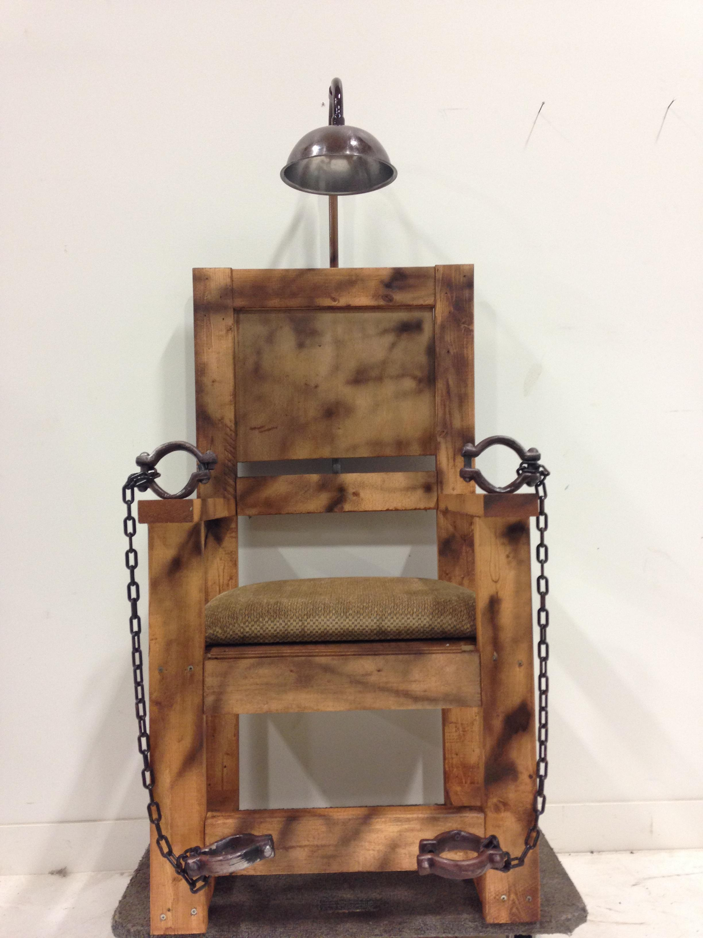 electric chair  Themed Party Props  Prop Sales  Rentals