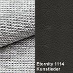 MEUBLO Grand canapé d'angle panoramique Convertibles 6/7 Places Tissu + Simili Cuir Berlin U (Noir, Canapé d'angle Gauche)