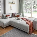 Bobochic – Bella – Canapé d'angle L Convertible – 5 Places – avec Coffre – Gauche