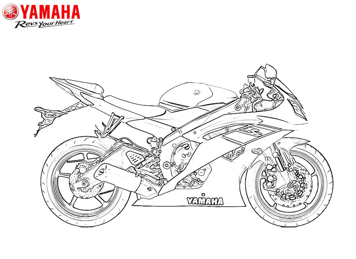 Yamaha invita a los peques de la casa a colorear su pasión