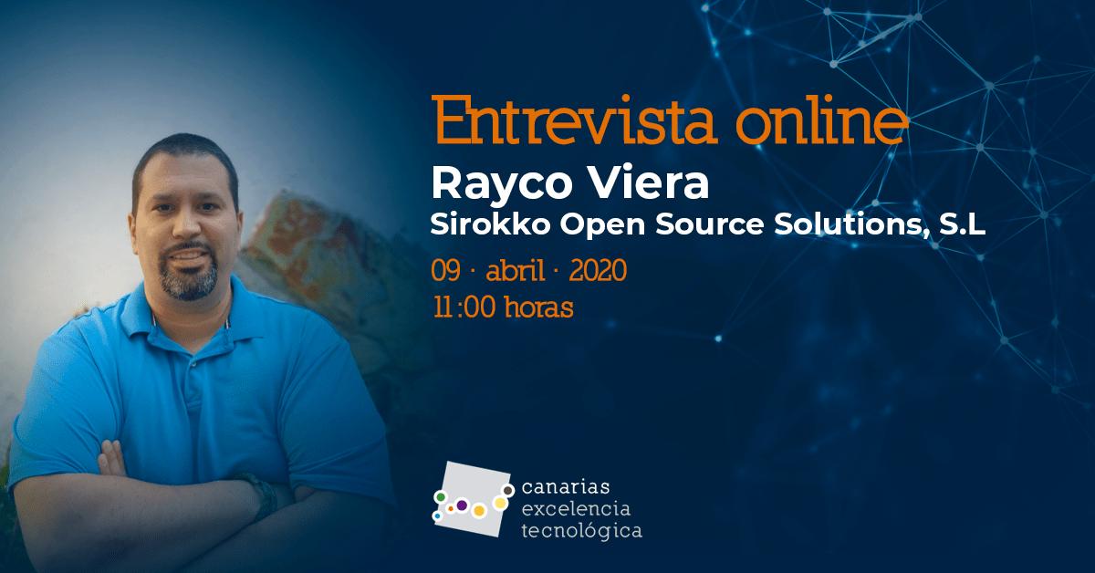 Entrevista online con Rayco Viera