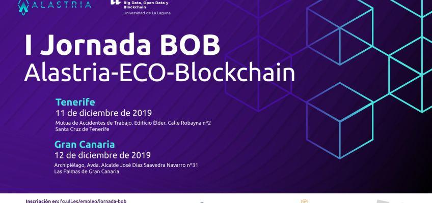 I Jornada BOB Alastria-ECO-Blockchain