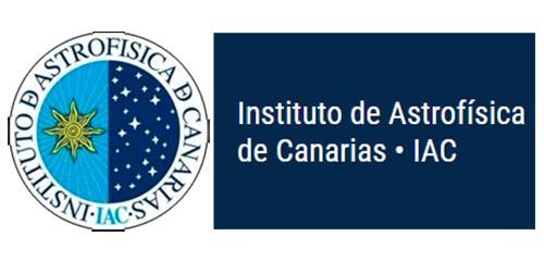 Logo Instituto de Astrofísica de Canarias IAC