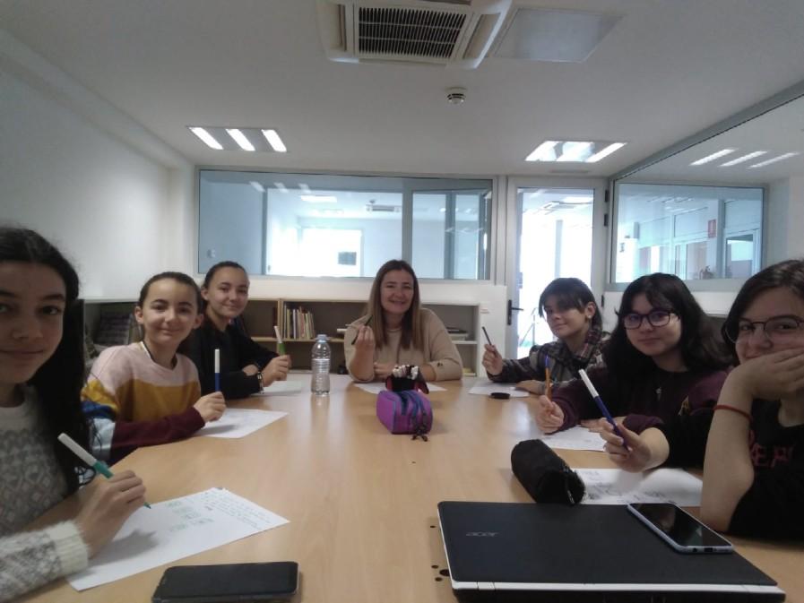 Reunión de Technovation Girls Canarias