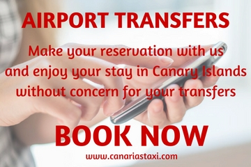 Booking transfers in Canarias Taxi