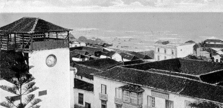 Un viejo convento – Convento de las monjas Catalinas en el Puerto de la Cruz.