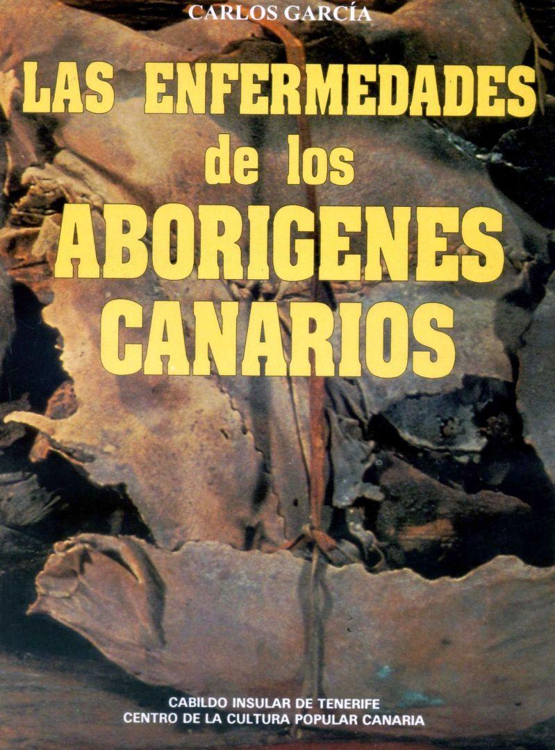 """Portada del libro """"Las enfermedades de los aborígenes canarios""""."""