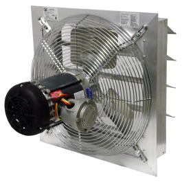 ax explosion proof shutter mounted fans