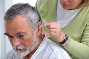 Age-related hearing loss is not an unusual occurrence.