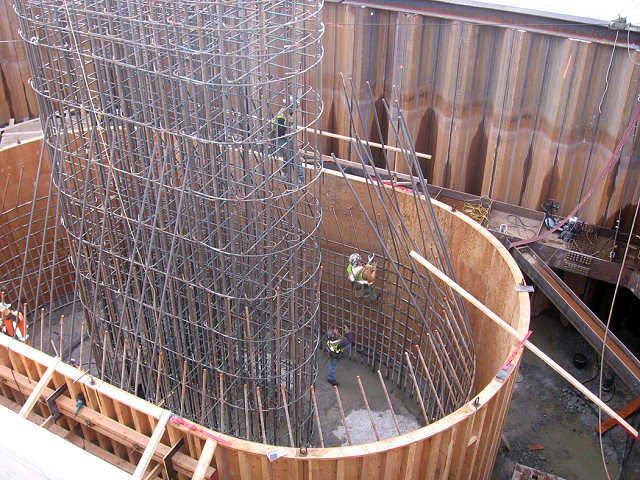 Concrete Reinforcing Steel Rebar Construction Projects Supplied by Canasteel in Prince George BC