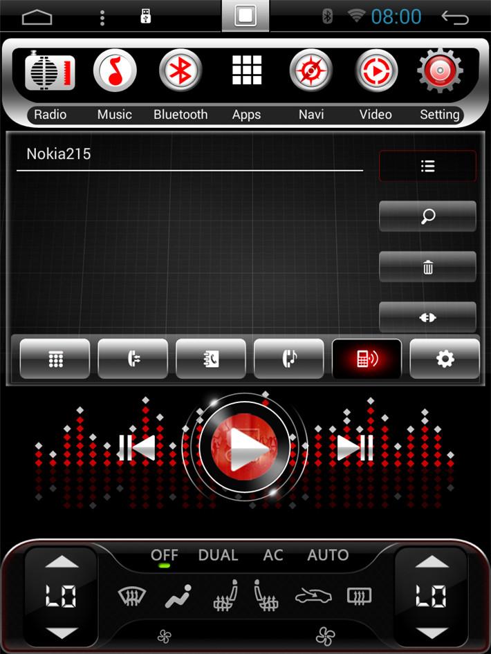 Live Wallpaper For Android Car Radio Vertical Screen Tesla Android Autoradio Headunit Car