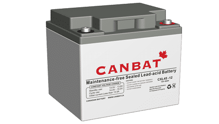 Extended Life Sealed Lead Acid Battery