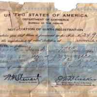 Birth Certificate Money - The Value of Your Birth Certificate Bond