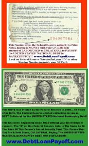 Federal Reserve Notes From Social Security Insurance Pays U S Debt