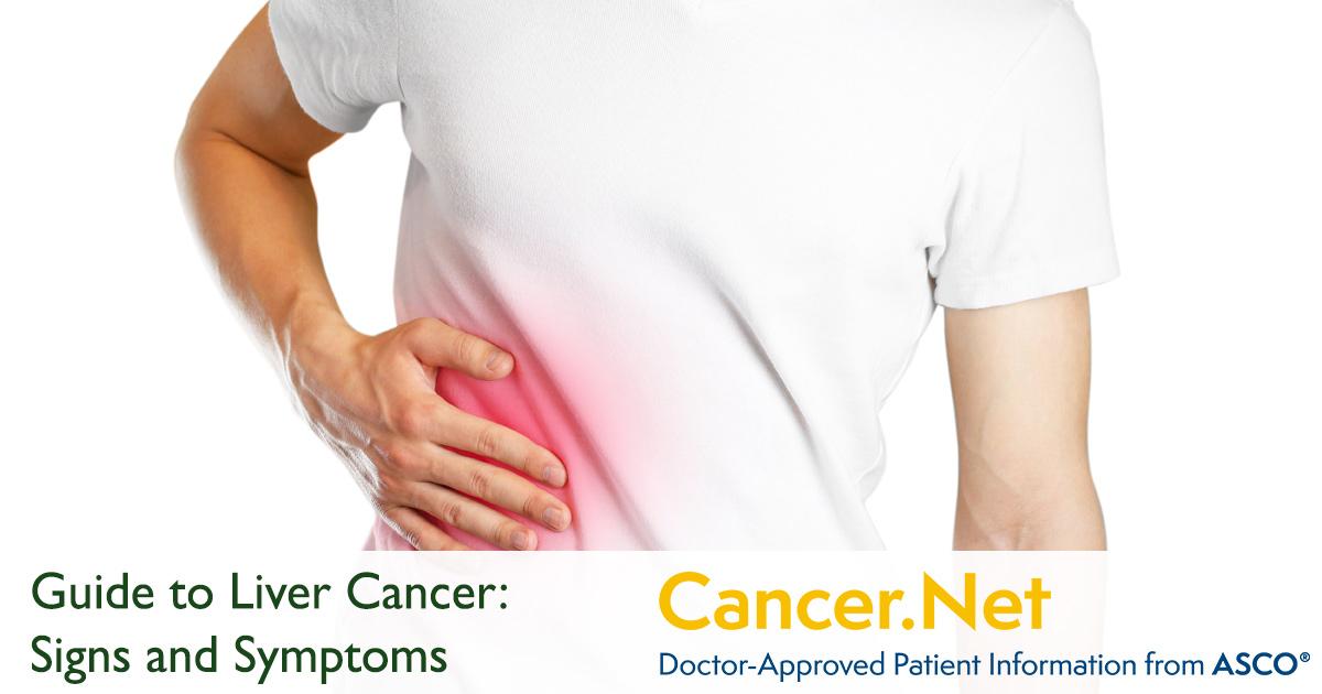 liver cancer symptoms and