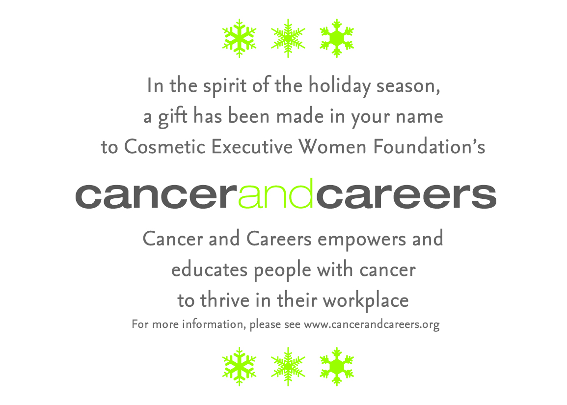 Want To Support Cancer And Careers During The Holidays